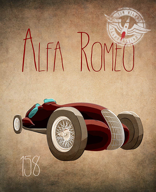 alfa Illustration by Tim Wilson
