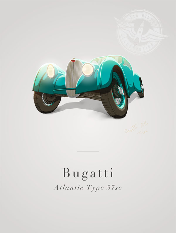 bugatti atlantic type 57sc
