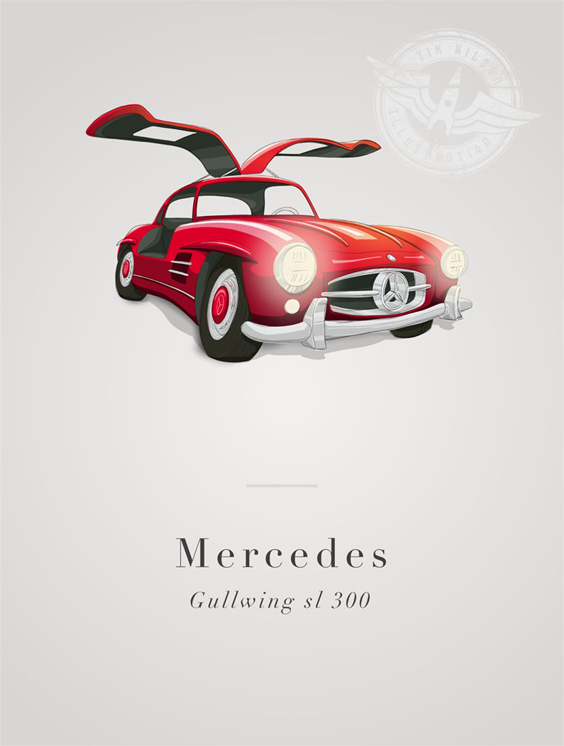 mercedes gullwing sl300